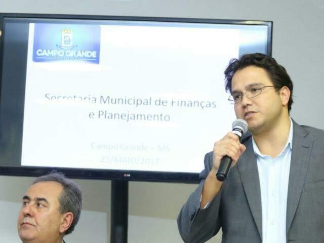 Secretário informou cenário crítico em coletiva na semana passada (Foto: André Bittar)