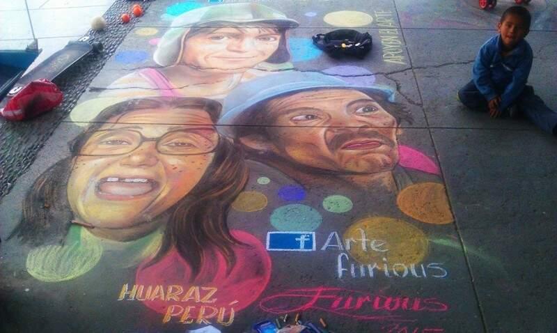 Kevin também reproduz ícones da cultura pop como a turma do Chaves. (Foto: Arte Furious)