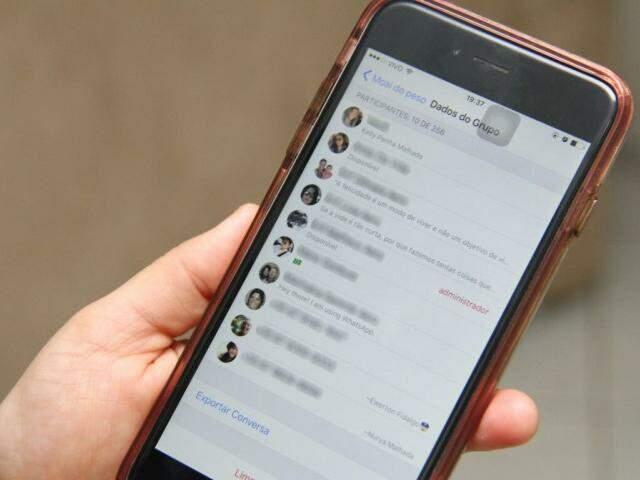 Pelo WhatsApp os amigos criaram uma espécie de grupo de apoio enquanto dura o moai. (Foto: Alan Nantes)