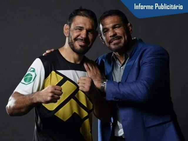 Irmãos Nogueira transformaram sucesso no UFC em treinamento para melhorar a vida de qualquer pessoa. (Foto: Alcides neto)