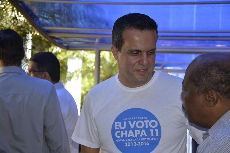 Ricardo Ayache foi eleito para novo mandato com 90% dos votos. (Foto: Luciana Brazil)