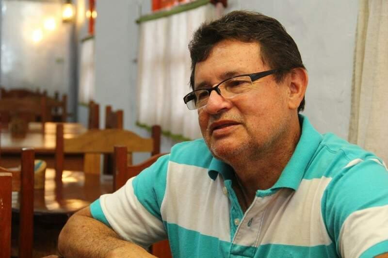 Senhor Ramão  fundou o restaurante ao lado da esposa.(Foto: Marcos Ermínio)
