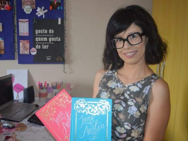 Escritora inglesa virou tema para clube do livro e Instagram (Foto: Wendy Tonhati)