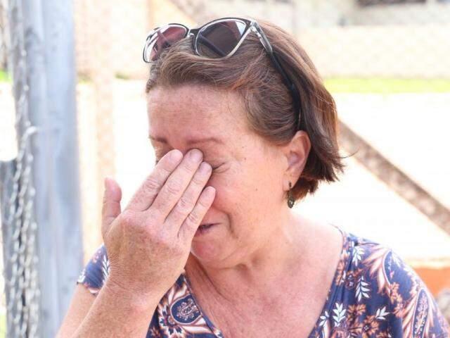 Dalva reclamou da falta de preparo da organização do Passe em lidar com a situação (Foto: Paulo Francis)
