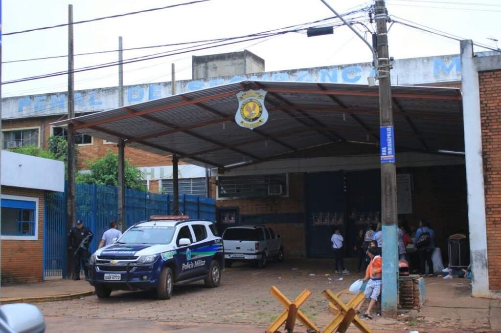 Presídio de Segurança Máxima é um dos locais onde o comunicado alerta do risco de rebelião (Foto: Marina Pacheco)