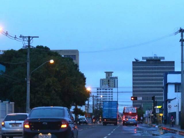 Previsão para Campo Grande é de céu nublado durante a manhã e chuvas à tarde. (Foto: André Bittar)
