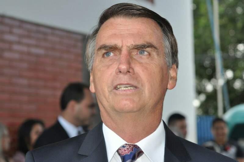Bolsonaro se diz vítima dos movimentos. (Foto: Marcelo Calazans)