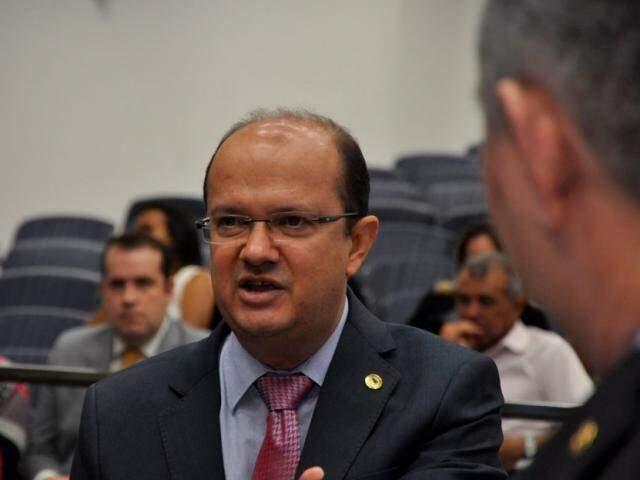 Líder do governo na Assembleia, deputado José Carlos Barbosa disse que acordo agiliza início das obras em MS (Foto/Divulgação: Luciana Nassar)