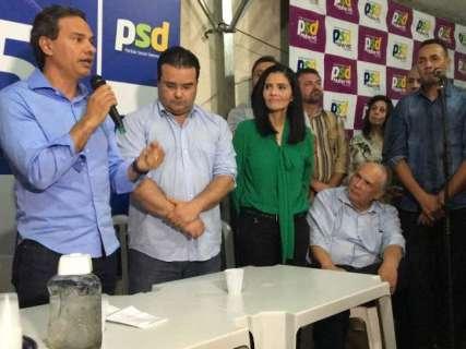 """PSDB foi mais """"competente"""" com alianças, diz Londres no anúncio de apoio do PSD"""