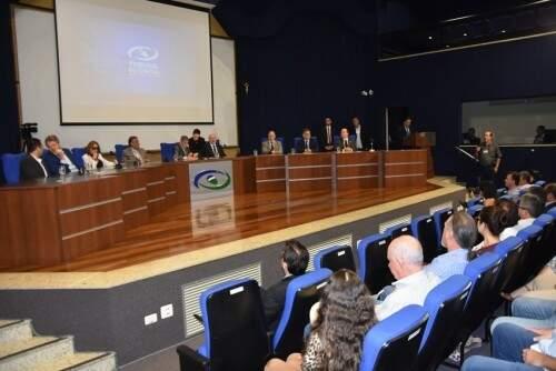 TCE premiou prefeituras que tiveram boas práticas de gestão (Foto: Divulgação/TCE)