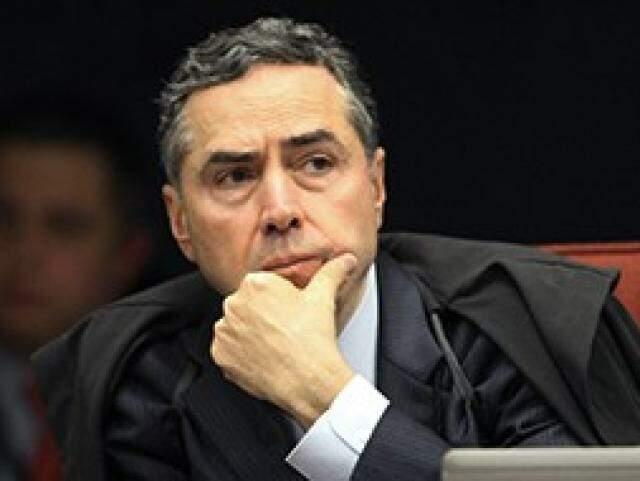 Ministro Luís Roberto Barroso durante sessão do STF (Foto: STF/Divulgação)