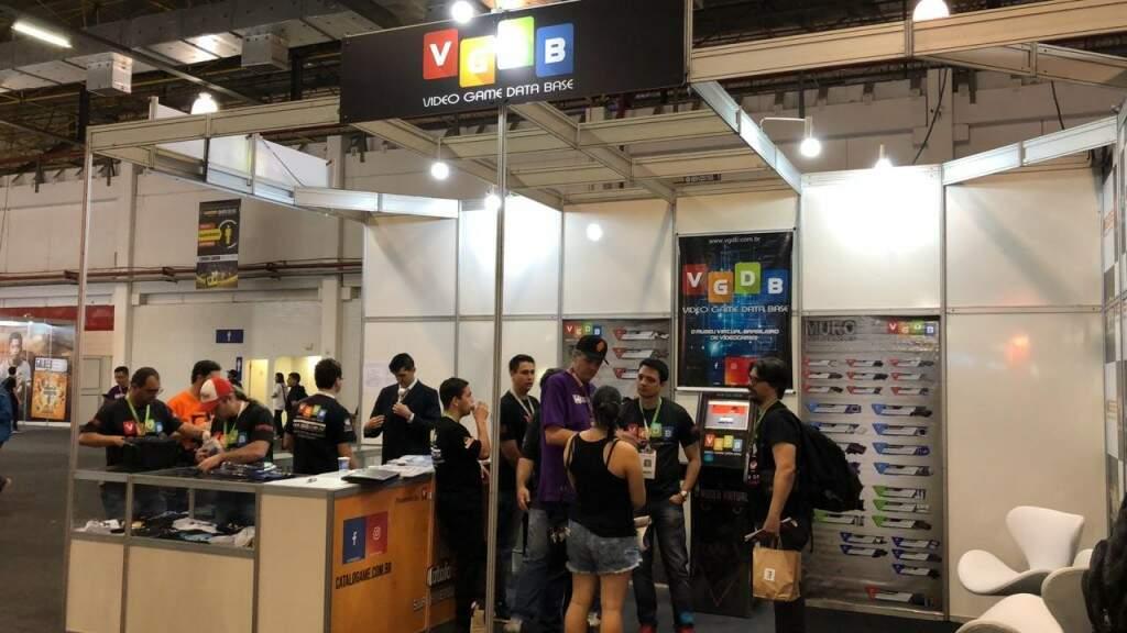 A competição ocorrerá em todos os dias da feira no estande do VGDB.
