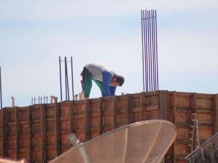 Preço da construção civil estabiliza em MS e fecha abril em R$ 1.021 o m²