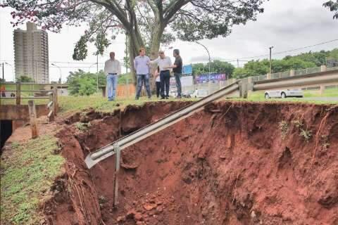 Bernal estima gastar R$ 60 milhões para recuperar estragos das chuvas