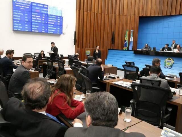 Evento vai ocorrer no plenário da Assembleia (Foto: Victor Chileno/ALMS)
