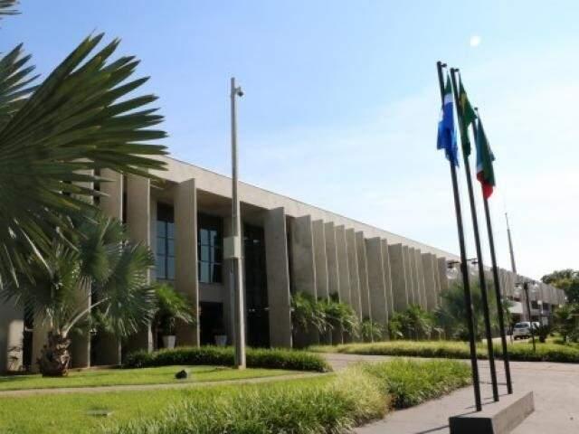 Sede do Tribunal de Justiça em Campo Grande. (Foto: Divulgação)
