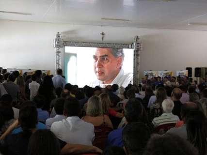 Militância tucana convoca para reeleição e Reinaldo diz que não foge à luta