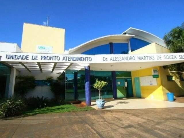 UPA Vila Almeida em Campo Grande (Foto: Arquivo/Campo Grande News)