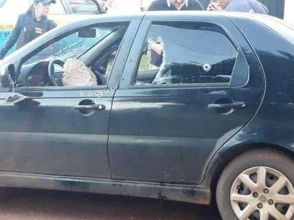 Fuzil usado em atentado no PY pode ser o mesmo que matou policial civil em MS