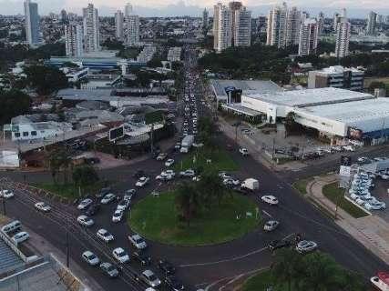 Prefeitura abre licitação para reformar rotatória da Ceará e Joaquim Murtinho