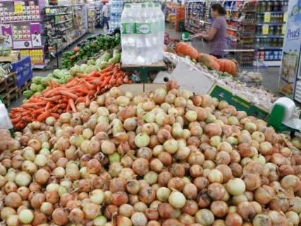 Após queda em setembro, preço da cesta básica tem alta de 2,3%
