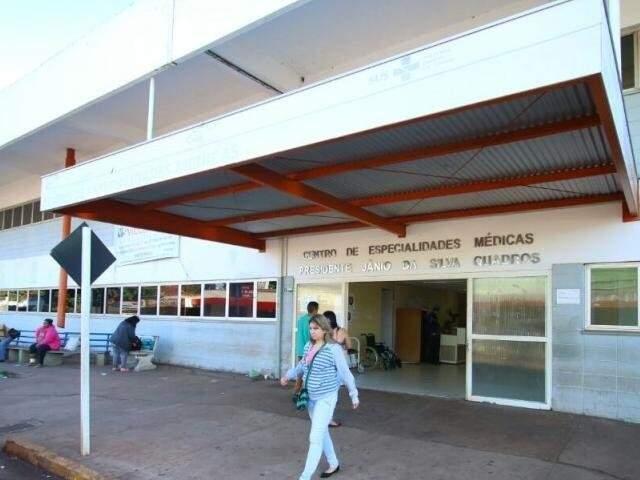 Centro de Especialidades Médicas em Campo Grande (Foto: Arquivo/Campo Grande News)