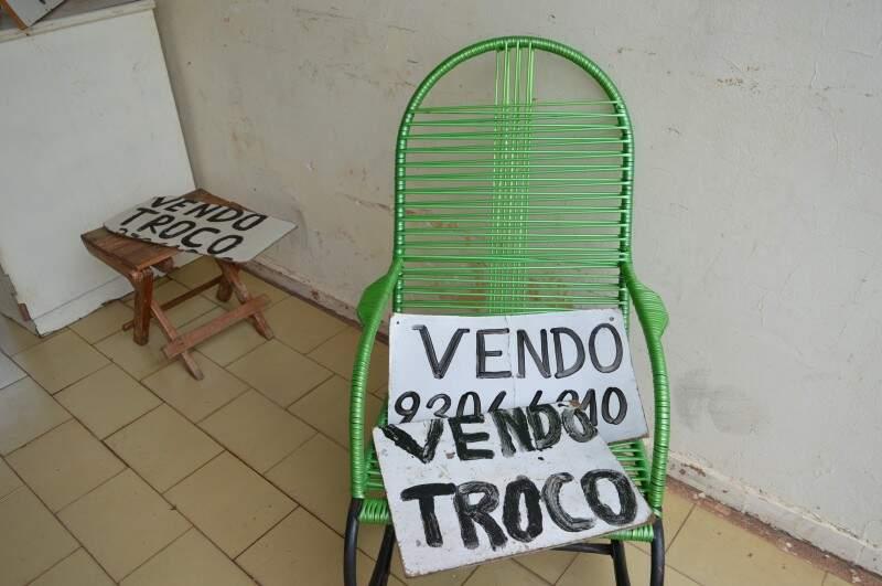 Cadeira de fio é comprada usada ou restaurada pelo dono da casa. (Foto: Pedro Peralta)