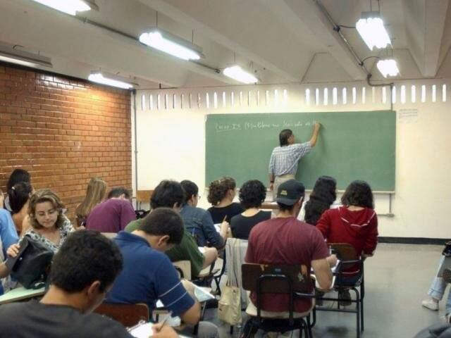 Alunos em sala de aula (Foto: Arquivo/Agência Brasil)