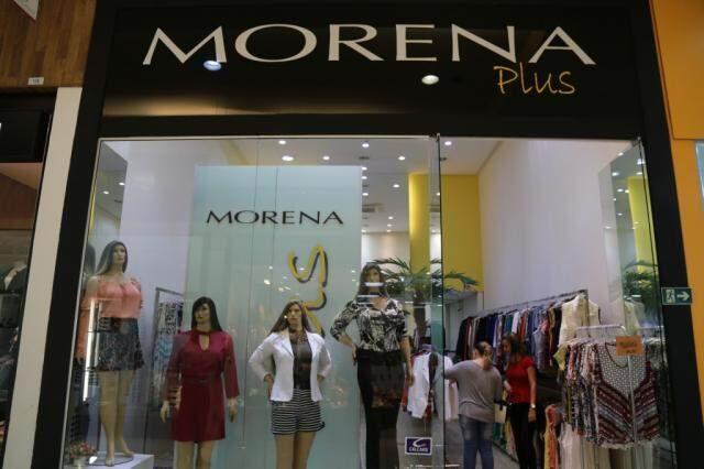 Loja tem duas unidades, uma delas no Shopping Pátio Central.
