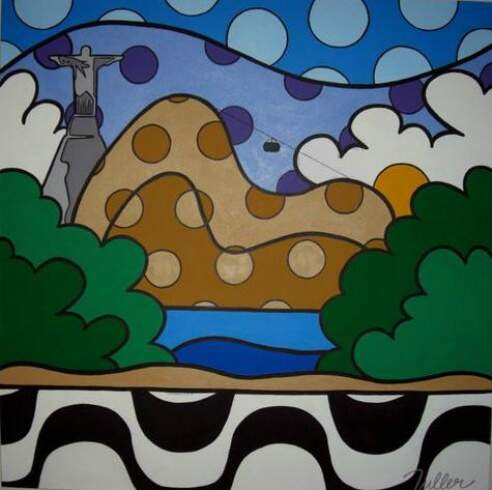 A força das cores na arte contemporânea de Márcio Tuller