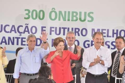 MS é uma beleza natural e fantástica para mostrar ao mundo, diz Dilma