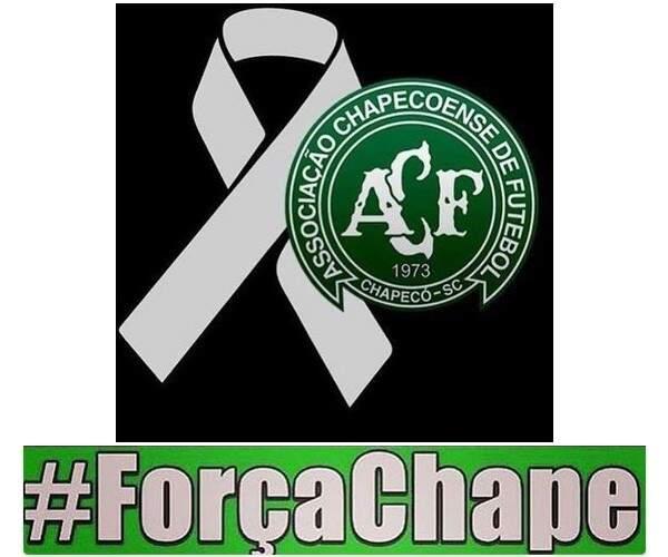 Força e fé Chapecoense