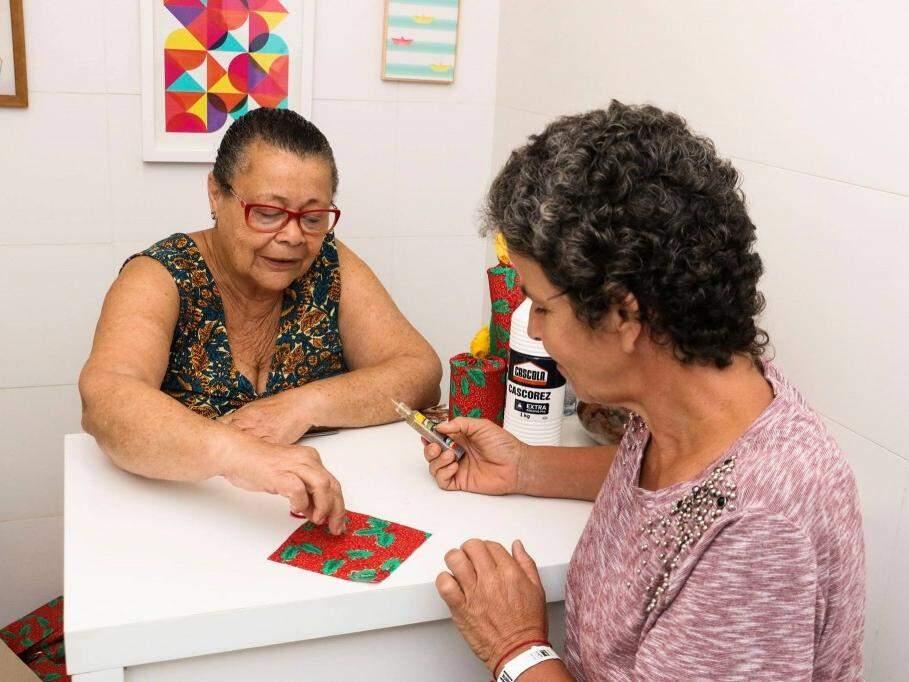 Judite é tia do jornalista Cadu Bortolot, que faleceu em 26 de outubro, vítima de câncer. (Foto: Messias Ferreira)
