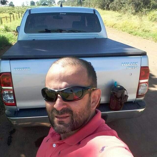 O policial Anderson Celin Gonçalves da Silva (Foto: Reprodução/Facebook)