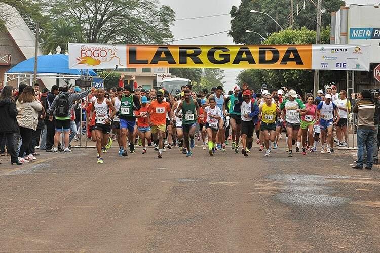 Maratona vai ocorrer amanhã em Dourados (Foto: MS em Foco)