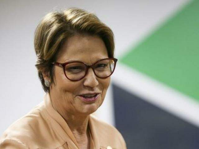 A ministra da Agricultura, Tereza Cristina, defende assento para o ministério no Conselho Monetário Nacional (Foto: Marcelo Camargo/Agência Brasil)