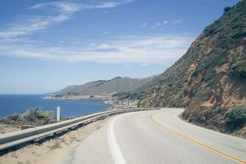 Uma das estradas que levam até a famosa ponte Golden Gate em São Francisco.(Foto: De Repente Califórnia)