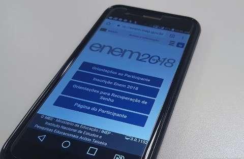Site do Inep disponibiliza resultados do Enem, mas é preciso paciência