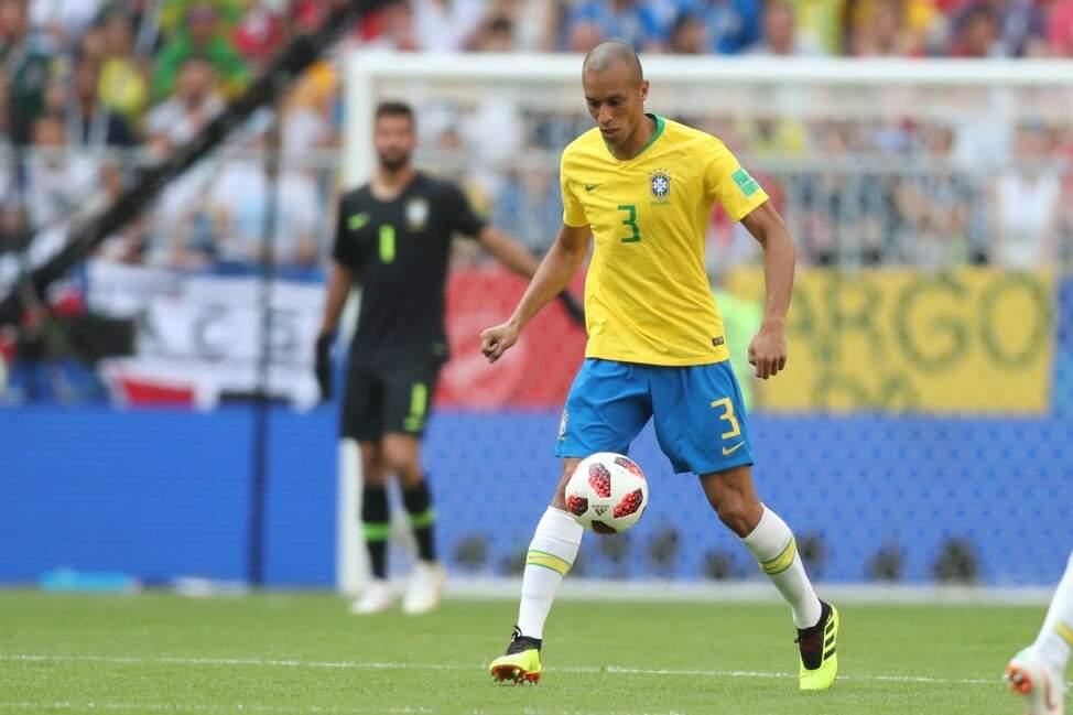 O experiente zagueiro Miranda, segurança na defesa do Brasil nesta Copa do Mundo (Foto: Lucas Figueiredo/CBF)