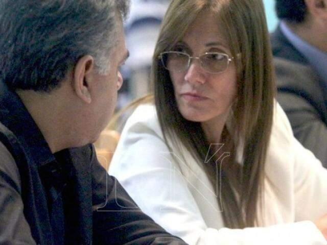 Laura Casuso ao lado de seu cliente, o brasileiro Jarvis Gimenes Pavão (Foto: La Nación)