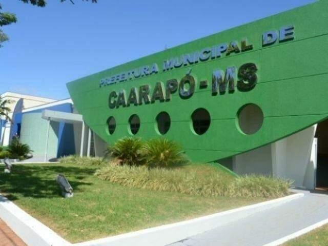 A Prefeitura de Caarapó está com inscrições abertas de concurso para preencher  174 vagas (Foto: Dilermano Alves/ Divulgação Prefeitura de Caarapó)