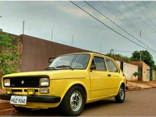 Esse é o Fiat 147 de Magno, modelo Rallye de 1979. (Foto: Arquivo Pessoal)