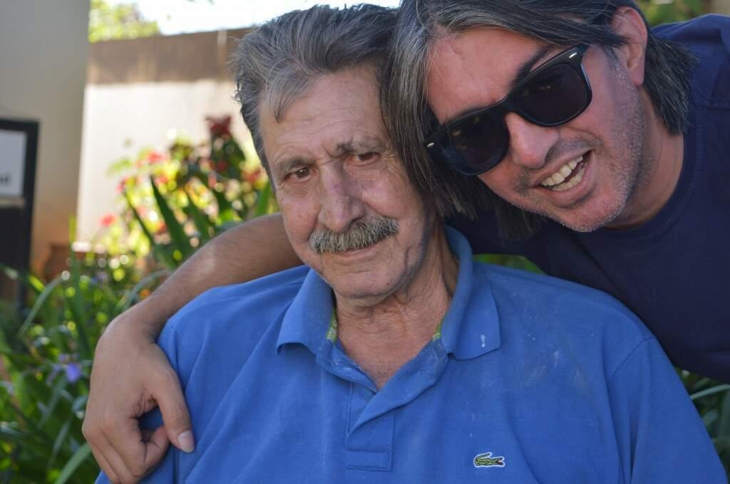 Altamir e Mário, filho do coração.