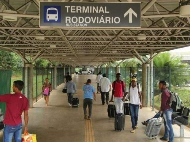 Socicam prevê aumento na procura da rodoviária por passageiros a partir de sexta-feira. (Foto: Marcos Ermínio/Arquivo)