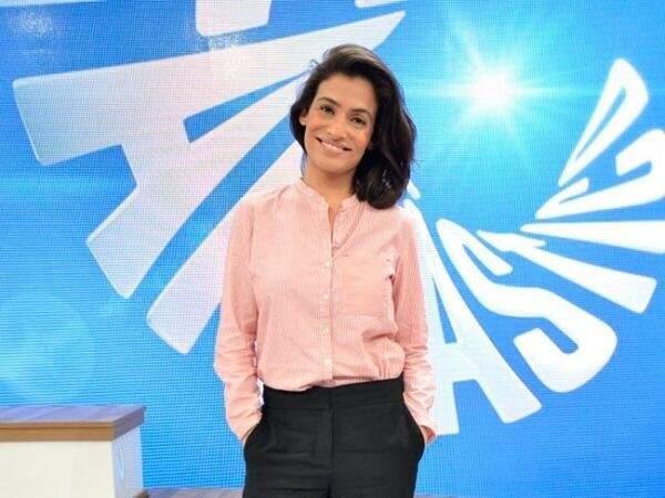 Renata Vasconcelos vai comandar o Fantástico em novo cenário (Foto: Divulgação)