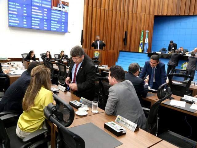 Deputados planejam voltar as articulações em janeiro (Foto: Victor Chileno/ALMS)
