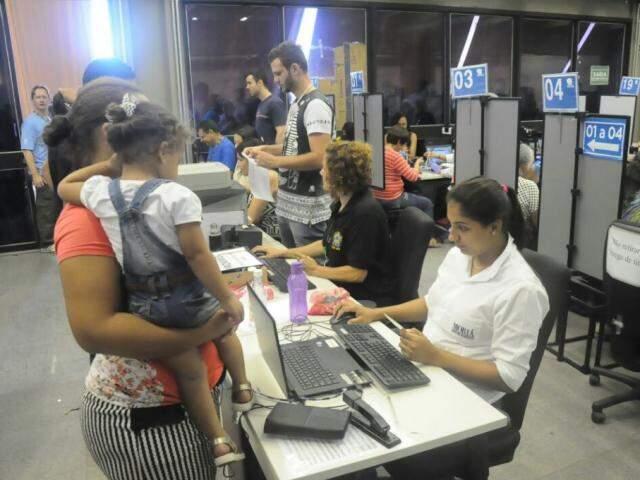 Biometria ainda não é obrigatória em municípios do interior do Estado (Foto: Paulo Francis/Arquivo)