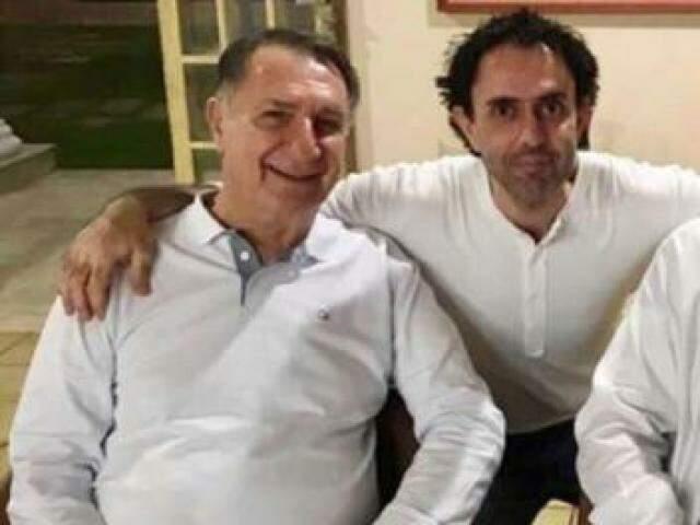 Jamil Name (esq) e Jamil Name Filho: pai e filho ficarão no Presídio Federal de Mossoró (Foto/Reprodução: Internet)