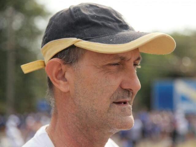 """""""Sempre venho ao parque e agora tenho outra alternativa"""", diz Sérgio Jardim."""
