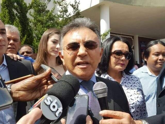 Candidato ao governo, o juiz aposentado Odilon de Oliveira tinha equipe da Polícia Federal exclusivamente para sua segurança pessoal. (Foto: Arquivo)